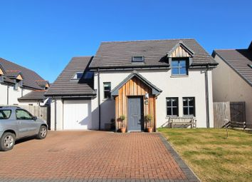 Thumbnail 3 bed detached house for sale in Cumiskie Crescent, Forres