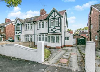 Thumbnail 3 bedroom semi-detached house for sale in Pulford Avenue, Prenton