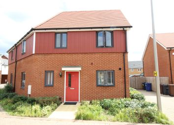 Thumbnail 3 bedroom semi-detached house for sale in Heathland Way, Grays