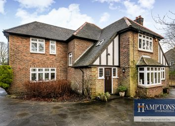 Thumbnail 4 bed detached house to rent in Rook Lane, Chaldon, Caterham, Surrey