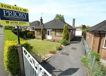 Thumbnail 2 bed detached bungalow for sale in Greenway Road, Biddulph, Stoke-On-Trent