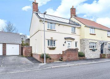 Thumbnail 3 bed semi-detached house for sale in Bramble Drive, Bridport, Dorset