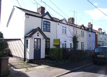 Thumbnail 3 bedroom end terrace house for sale in St. Johns Road, Saxmundham