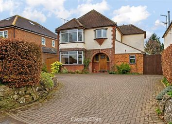 Thumbnail 4 bed detached house for sale in Sandridgebury Lane, St Albans, Hertfordshire