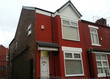 Thumbnail 4 bed end terrace house for sale in Portland Road, Longsight, Manchester