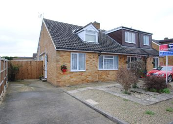Thumbnail 3 bed semi-detached house for sale in Oakfield Road, Bishops Cleeve, Cheltenham