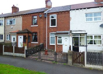 Thumbnail 2 bed terraced house to rent in Weeland Road, Sharlston Common, Wakefield