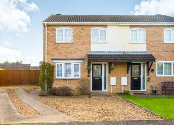 Thumbnail 3 bed semi-detached house for sale in Mallows Drive, Raunds, Wellingborough