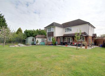 Thumbnail 4 bed detached house for sale in Hillcrest Avenue, Chertsey, Surrey