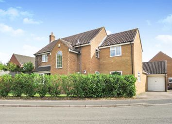 Thumbnail 4 bed detached house for sale in Lincoln Crescent, Biggleswade