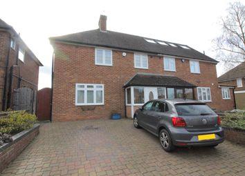 3 bed semi-detached house for sale in Hartforde Road, Borehamwood, Hertfordshire WD6