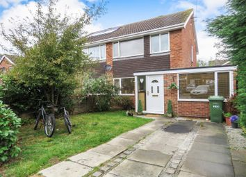 Thumbnail 3 bed semi-detached house for sale in Ditchfield, Somersham, Huntingdon