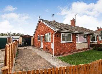 Thumbnail 2 bed semi-detached bungalow for sale in Hillfield, Selby, North Yorkshire
