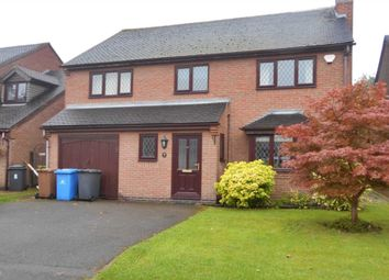 Thumbnail 4 bedroom detached house to rent in Fulmar Close, Mickleover, Derby