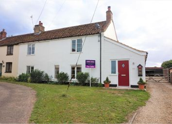 Thumbnail 3 bed semi-detached house for sale in The Street, Marham, King's Lynn