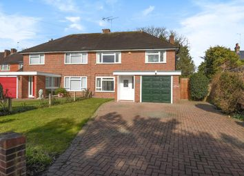 Thumbnail 3 bedroom semi-detached house for sale in Broomfield, Lower Sunbury