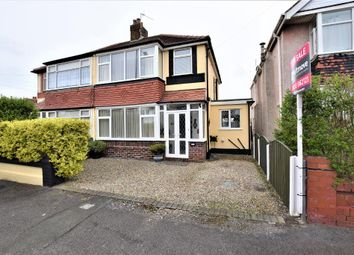 Thumbnail 3 bed semi-detached house for sale in Nutter Road, Thornton-Cleveleys