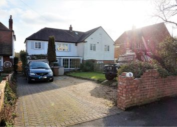 Thumbnail 4 bed semi-detached house for sale in Woodfield Avenue, Farlington, Portsmouth