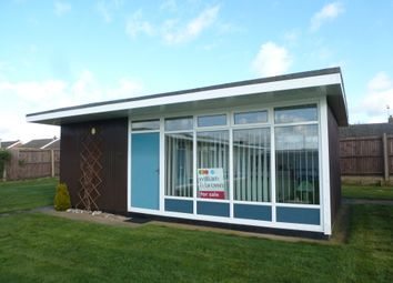 Thumbnail 2 bedroom bungalow for sale in Broadside Chalet Park, Stalham, Norwich