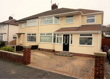 Thumbnail 3 bed semi-detached house for sale in Cypress Road, Huyton