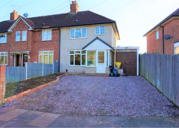Thumbnail 3 bed end terrace house for sale in Merritts Brook Lane, Birmingham