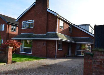 Thumbnail 6 bed detached house for sale in Barn Lane, Golborne, Warrington