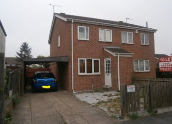 Thumbnail 2 bed semi-detached house to rent in Kempton Road, Hull