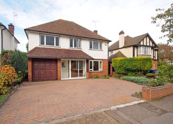 Thumbnail 4 bedroom detached house to rent in Cleves Avenue, Ewell