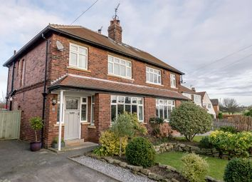 Thumbnail 3 bed semi-detached house for sale in The Poplars, Bramhope, Leeds