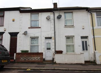 Thumbnail 2 bed terraced house to rent in Saxton Street, Gillingham, Kent