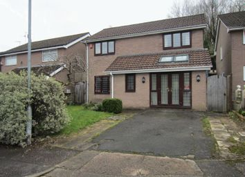 Thumbnail 4 bed detached house to rent in Kestrel Close, Cyncoed, Cardiff
