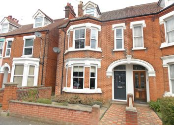Thumbnail 4 bed semi-detached house for sale in Gainsborough Road, Felixstowe