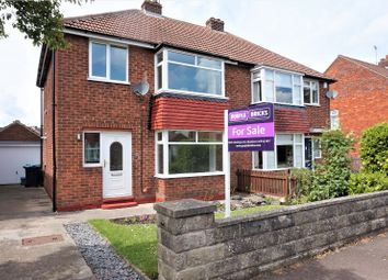 Thumbnail 3 bed semi-detached house for sale in Wheatlands, Great Ayton, Middlesbrough