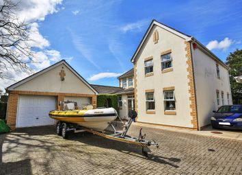 Thumbnail 4 bed detached house for sale in Cwrt St. Cyres, Penarth