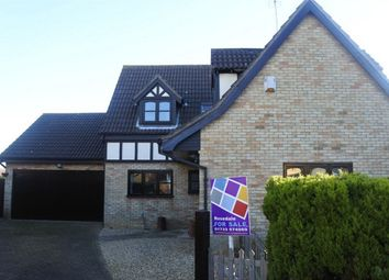 Thumbnail 4 bed detached house for sale in Hythegate, Werrington, Peterborough, Cambridgeshire