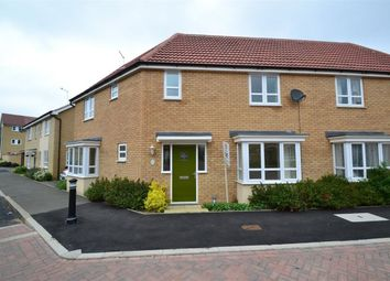 Thumbnail 4 bedroom property to rent in Mid Water Crescent, Hampton Vale, Peterborough