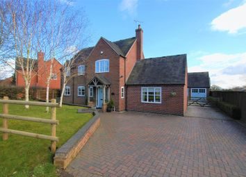 Thumbnail 5 bed detached house for sale in Withington, Leigh, Stoke-On-Trent