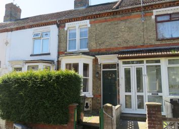 Thumbnail 3 bed terraced house for sale in Huntly Grove, Peterborough