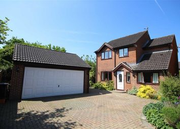 Thumbnail 4 bed detached house for sale in Harptree Close, Swindon, Wiltshire