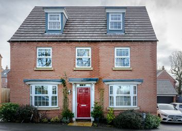 Thumbnail 5 bed detached house for sale in Bluebell Way, Coalville