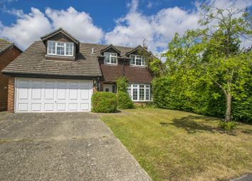Thumbnail 4 bedroom detached house for sale in Valley Close, Goring On Thames, Reading