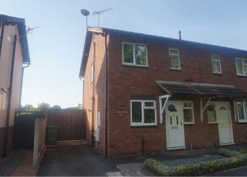 Thumbnail 2 bed semi-detached house for sale in Gains Avenue, Shrewsbury