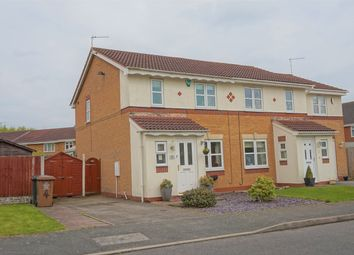 Thumbnail 3 bed semi-detached house for sale in Arnside Close, Church Gresley, Swadlincote