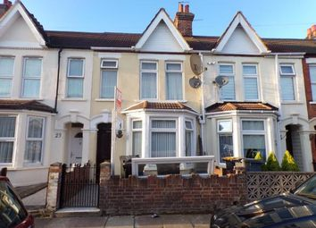 Thumbnail 3 bed terraced house for sale in Preston Road, Queens Park, Bedford