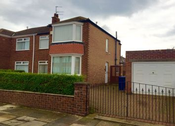 Thumbnail 3 bed semi-detached house to rent in Glenmor Grove, Normanby, Middlesbrough