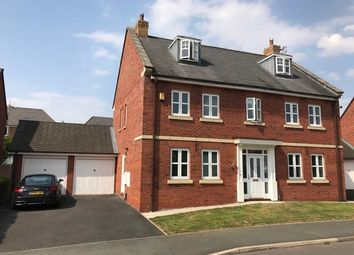 Thumbnail 5 bedroom detached house to rent in Parkland Drive, Wychwood Village, Weston, Crewe, Cheshire