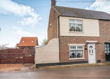 Thumbnail 2 bed semi-detached house for sale in Small Lode, Upwell, Wisbech