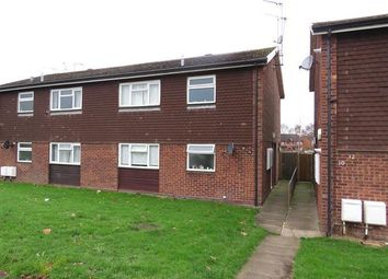 Thumbnail 1 bed flat to rent in Devon Road, Cannock