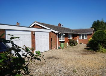 Thumbnail 3 bedroom detached bungalow for sale in Wickhambrook Road, Hargrave, Bury St. Edmunds