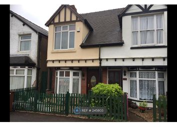 Thumbnail 3 bed semi-detached house to rent in Heath Gap Road, Cannock